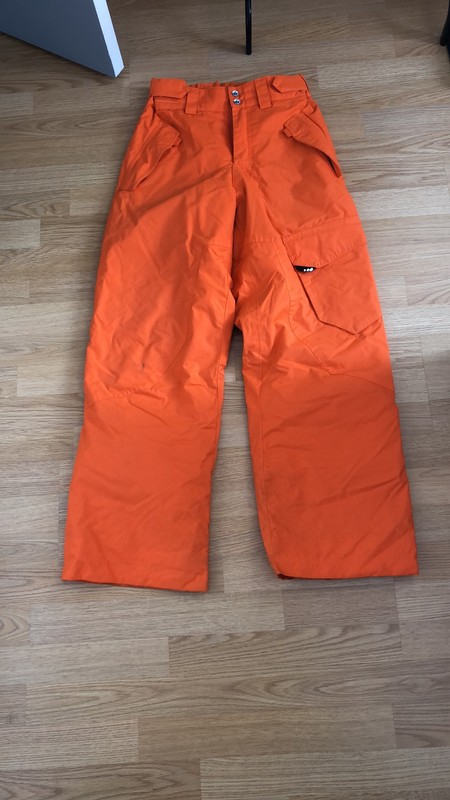 Pantalon de ski wed'ze orange