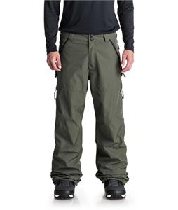 Pantalon ski under black red. grey camo picture