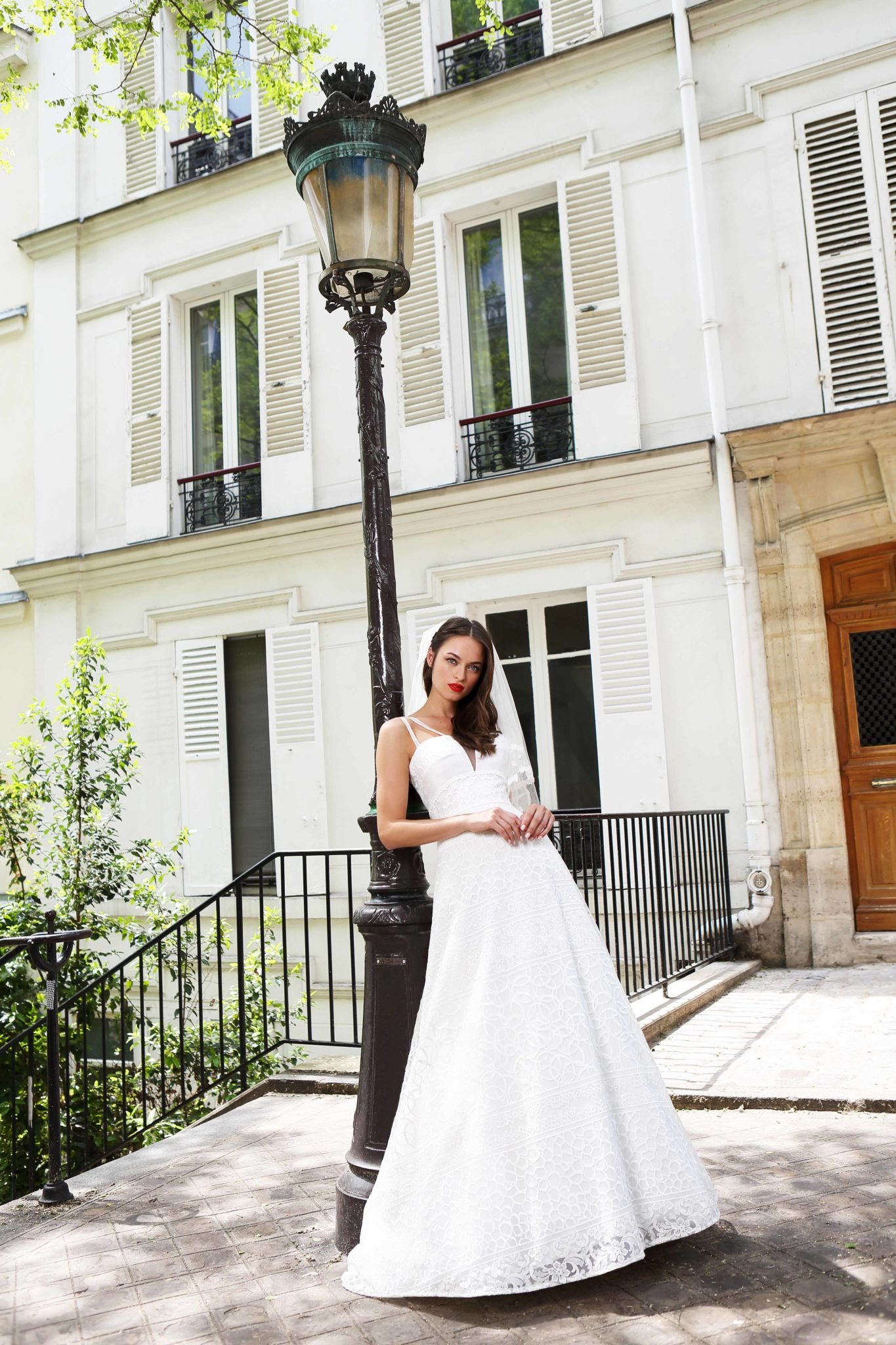 Robe rouge wedding