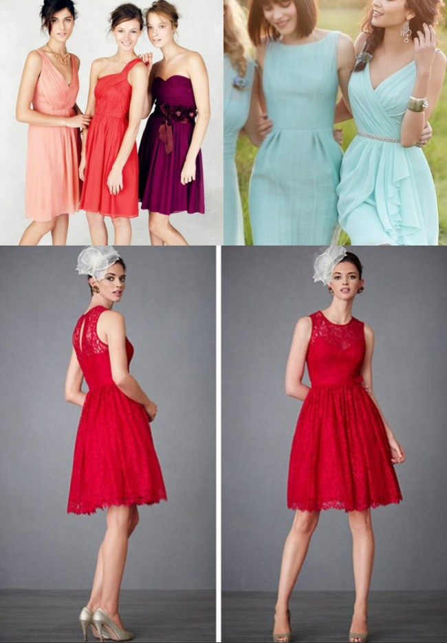 Robe rouge invité mariage