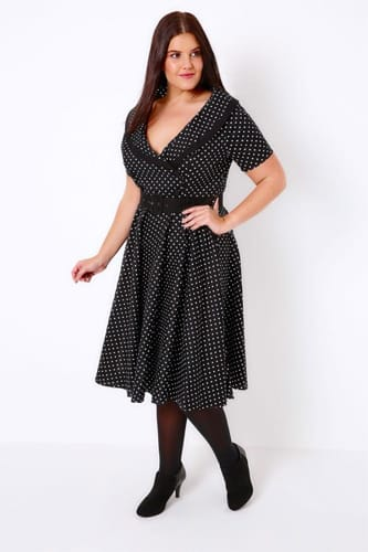 Robe style année 60 grande taille