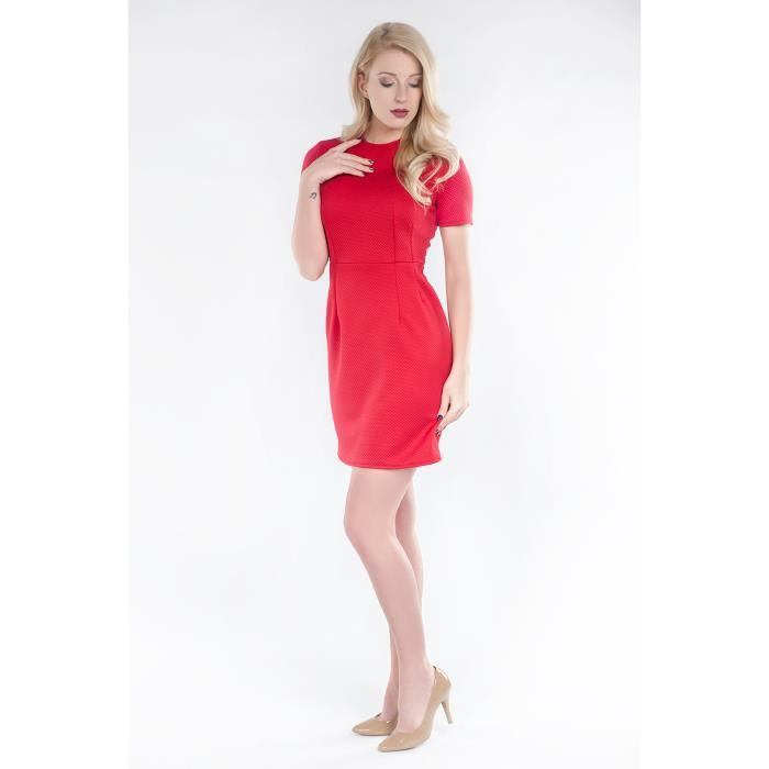 Robe rouge taille xs