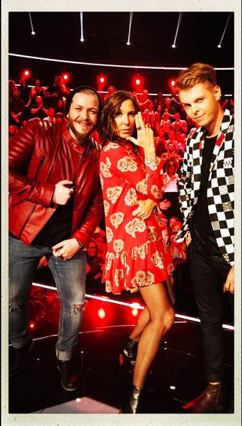 Robe rouge zazie the voice